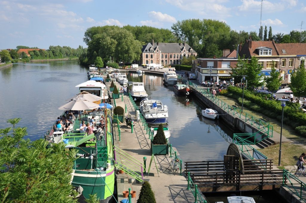Balade à vélo le long des berges – De la Citadelle de Lille à Warneton