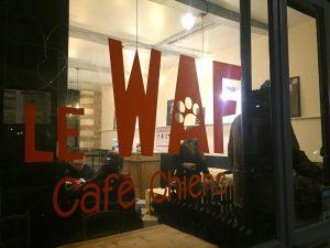 le waf bar à chiens
