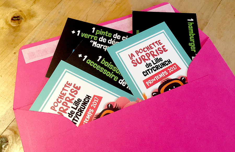 pochette surprise Lille CityCrunch