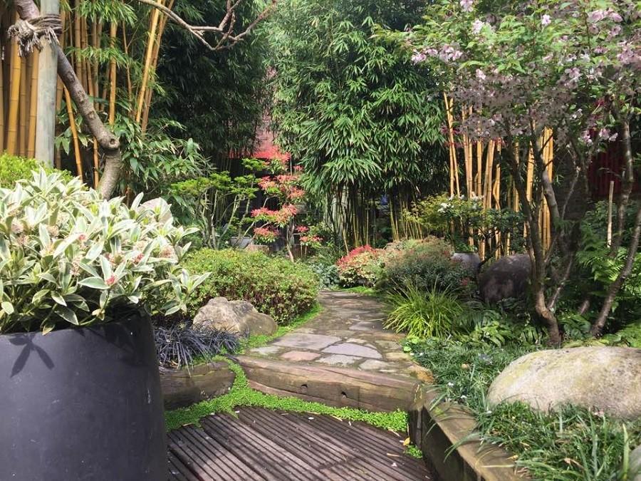 Insolite Incroyable jardin zen japonais caché en pleine