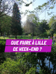 Bons plans du weekend Lille