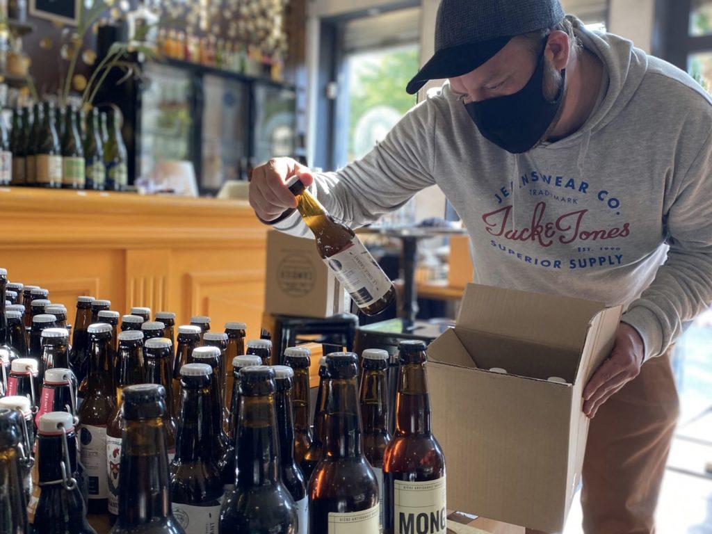 Faire le plein de bières locales avec la cave à bières de la Mousse Touch