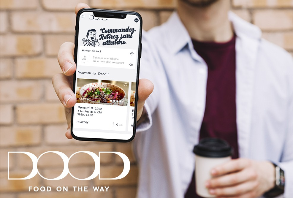 Dood – Le click and collect pour soutenir les restaurateurs lillois