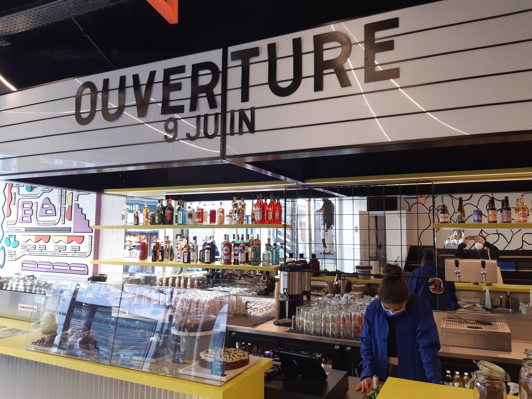 Grand Scène – Le spectaculaire food court de la rue de Béthune