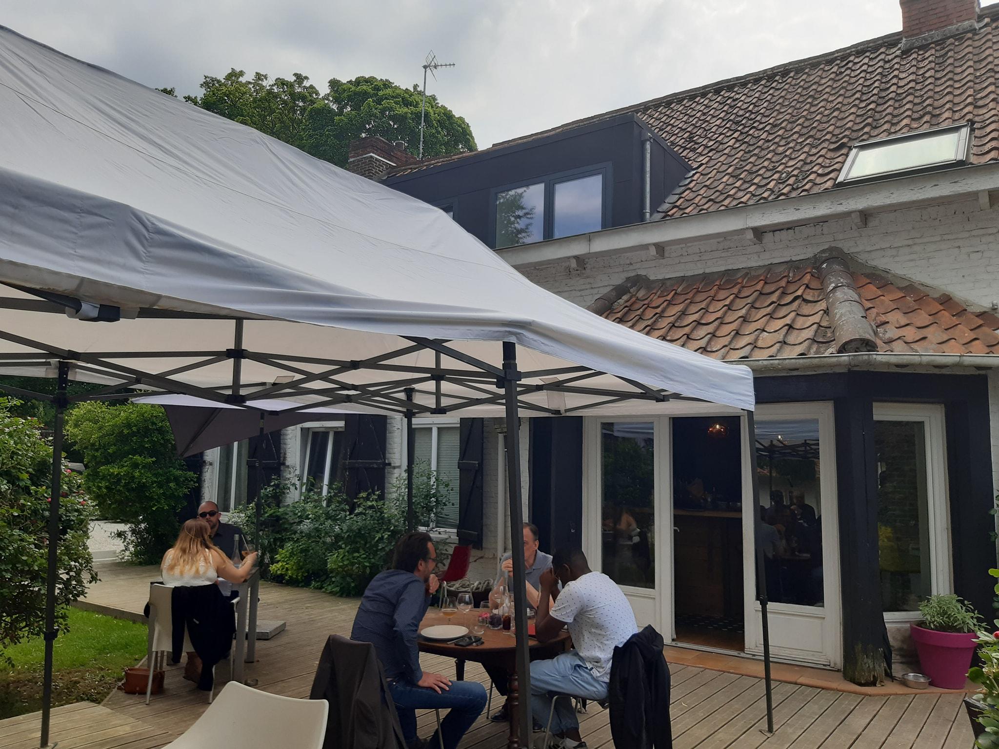 On a testé La Ferme Blanche – Terrasse et gastronomie à Lompret