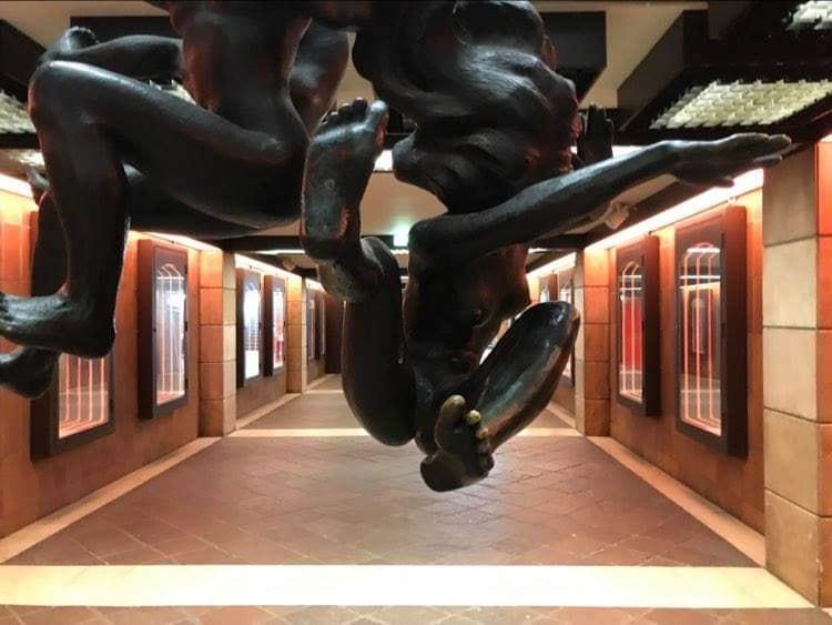 La station République Beaux-Arts s'est transformée en galerie d'art