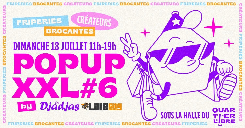 Brocante, fripes et créateurs ce dimanche 18 juillet au Quartier Libre