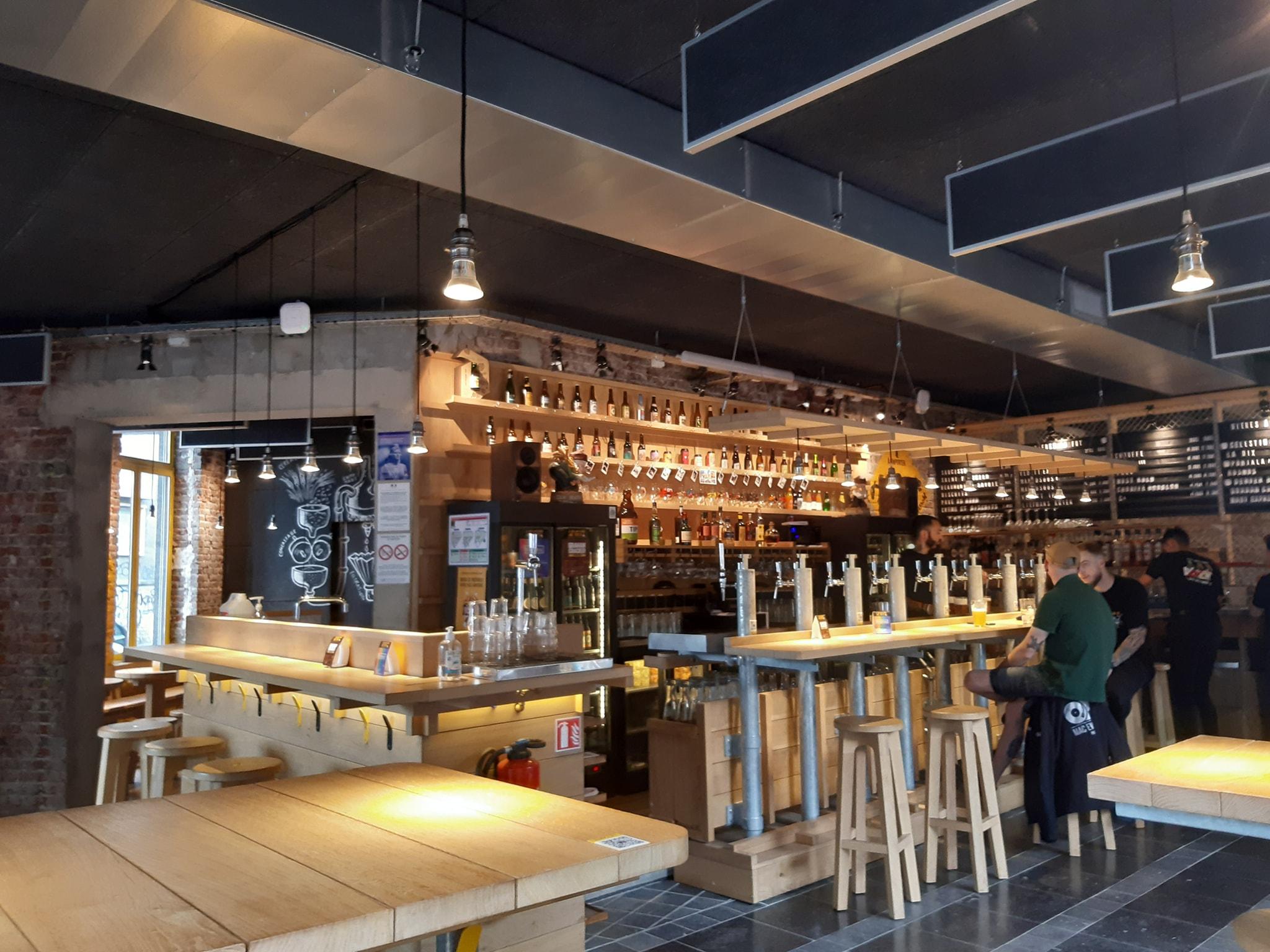 On a testé le BerthoM – Le Bar à bières qui monte sur le parc JB Lebas
