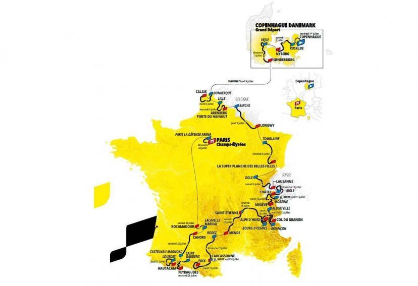 Le Tour de France 2022 passera à Lille en juillet pour une étape de compét