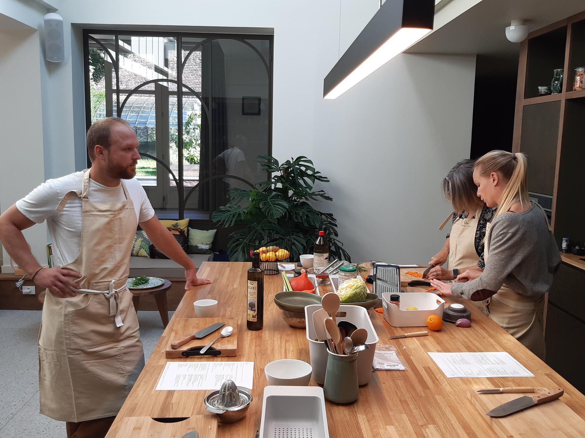 On a testé les cours de cuisine et les conseils nutrition d'Atelier Pur à Lille