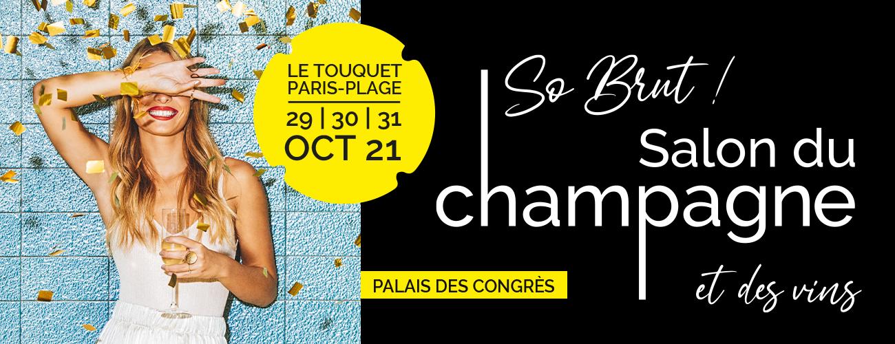 Du 29 au 31 octobre – So Brut, Salon du Champagne et des Vins au Touquet
