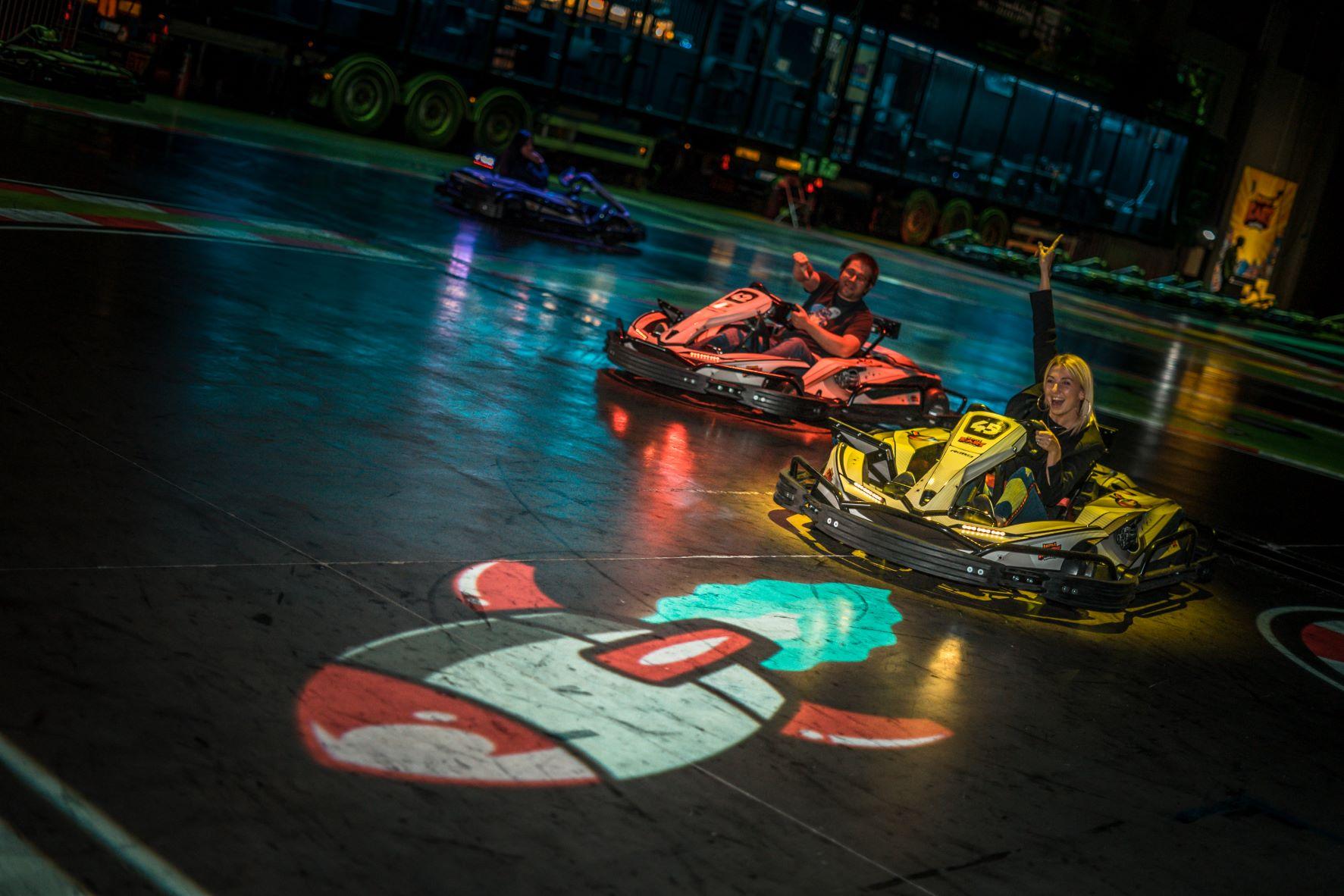 Battle Kart – Le jeu Mario Kart existe en grandeur nature à Mouscron
